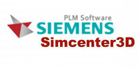 Logotype of Siemens 3D